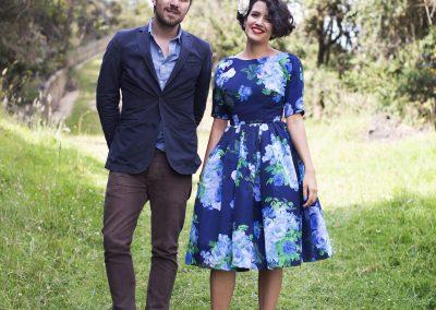 Foto de Valeria Duque en el matrimonio de Mar & Harold