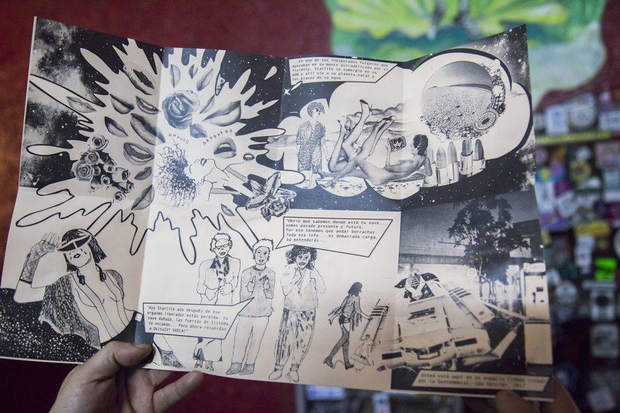 Fiestas de La Rebelión - Lanzamiento Fanzine #2 de StarliteGalaxia - Foto de David Moreno