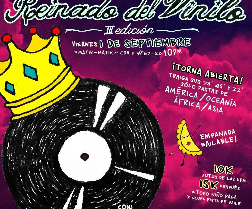 LuzEstrella en el Reinado del Vinilo / 1 de Septiembre / Bogotá